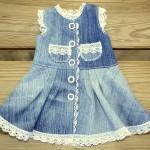 Джинсовое платье для Лиды перед