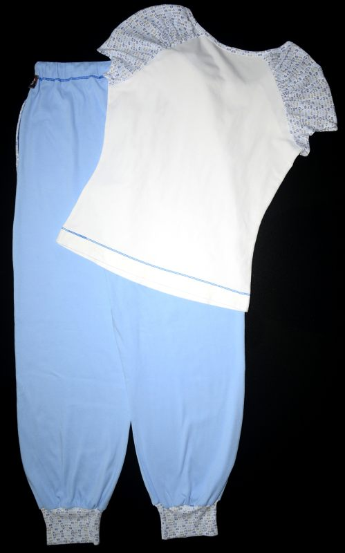 Неудачная пижама спинка