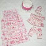 """Платье """"Английские песенки"""", вид сзади. Бурда """"Детская мода"""" 2012, мод. 641"""