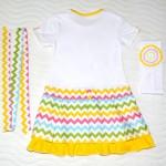 Платье для дочки, спинка. Детский ШиК №1-2013, мод. 24