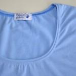 Обработка горловины футболки (кулирка с\л бамбук)