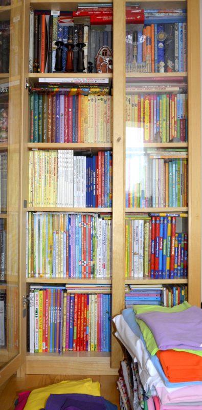 Фрагмент детского книжного шкафа
