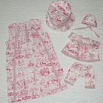 """Платье """"Английские песенки"""", вид спереди. Бурда """"Детская мода"""" 2012, мод. 641"""