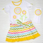 Платье для дочки, перед. Детский ШиК №1-2013, мод. 24