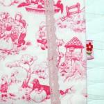 "Платье ""Английские песенки"" на дочке, бирочка. Бурда ""Детская мода"" 2012, мод. 641"