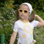Платье для дочки, аппликация. Детский ШиК №1-2013, мод. 24