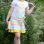 Платье на дочке, перед. Детский ШиК №1-2013, мод. 24