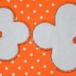 """Пляжный сарафан, аппликация. Бурда """"Детская мода"""" 2012, мод. 635"""
