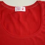 Обработка горловины футболки (кулирка с\л)