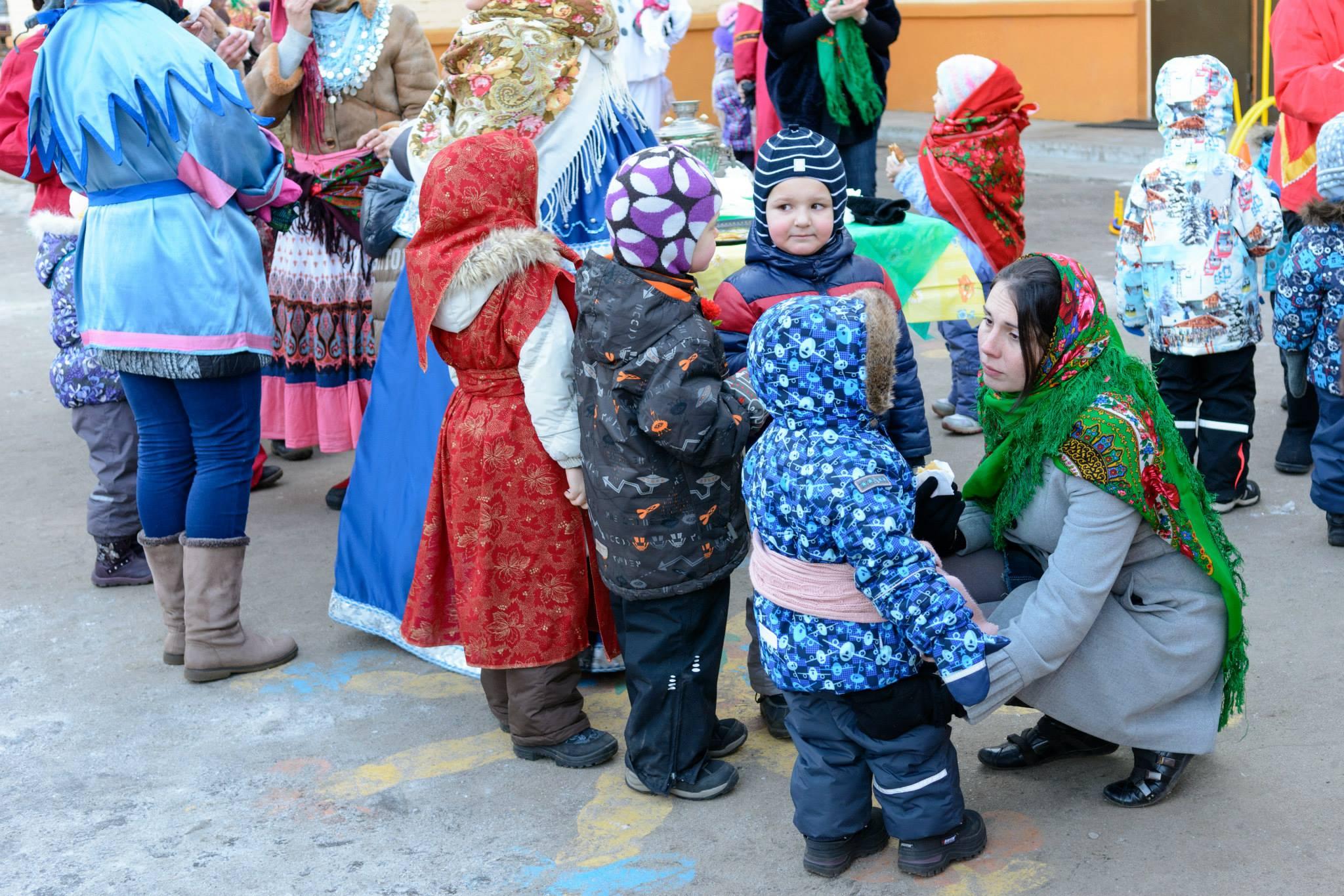 Масленица в детском саду и наряд для нее