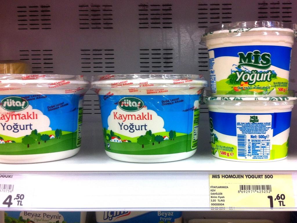 Йогурт очень популярен в Турции