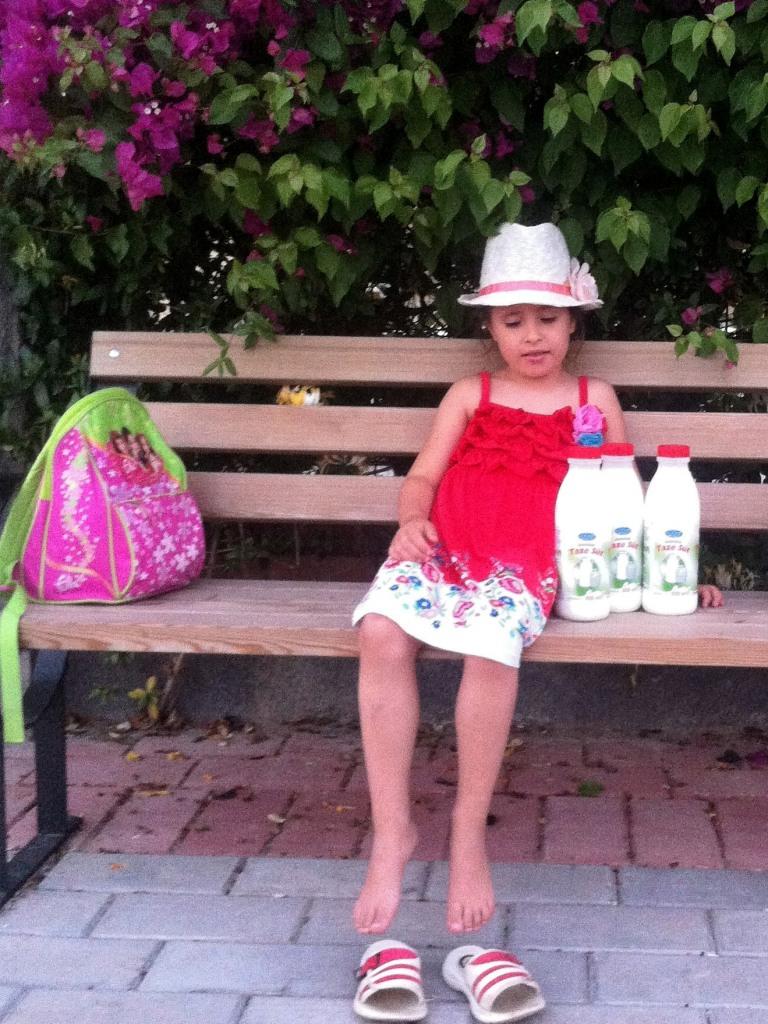 За молоком в Турции ходим чуть ли не через день