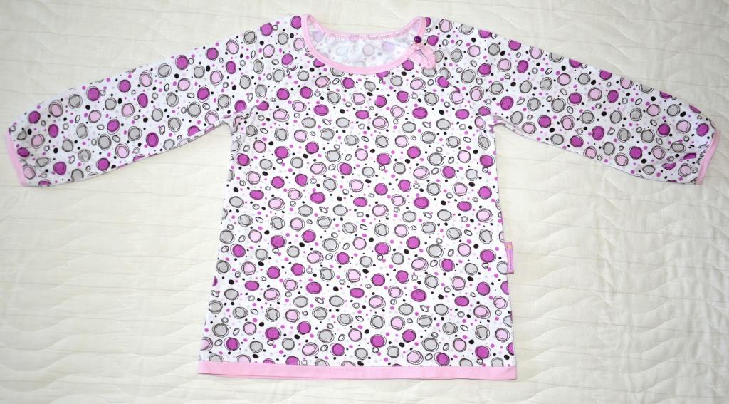 Сиреневая футболка (Оттобре №4-2011)