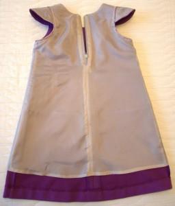 Сиреневый сарафан (Оттобре № 6-2013), подкладка спинка