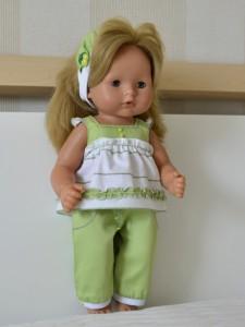 Летний брючный костюмчик для куклы GOTZ Аквини