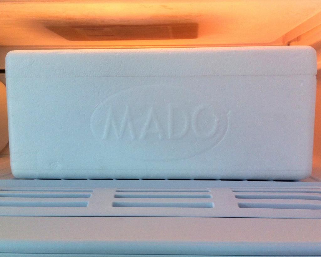 Упаковка-термос для мороженого MADO