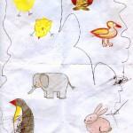 """Такие рисунки получились у меня по книге """"Тюрк, Праделла: Веселая школа рисования для детей от 3-х лет"""""""