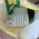 Оверлок перевозили в Ашановской хозяйственной сумке