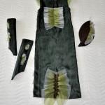 Костюм ЩУКИ, платье сзади и аксессуары