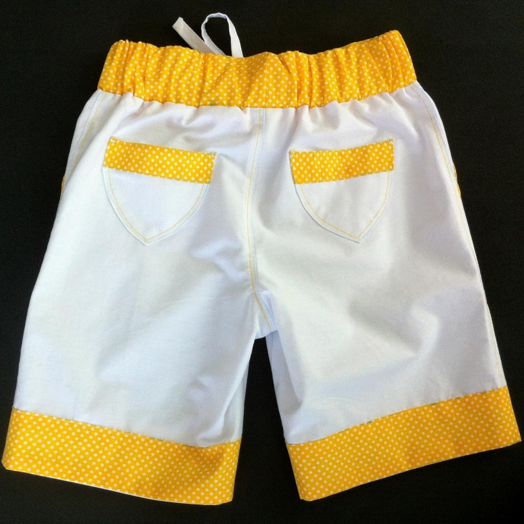 Летние х/б шорты для девочки