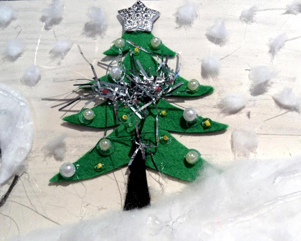 Проект Времена года, Новогодняя ёлка
