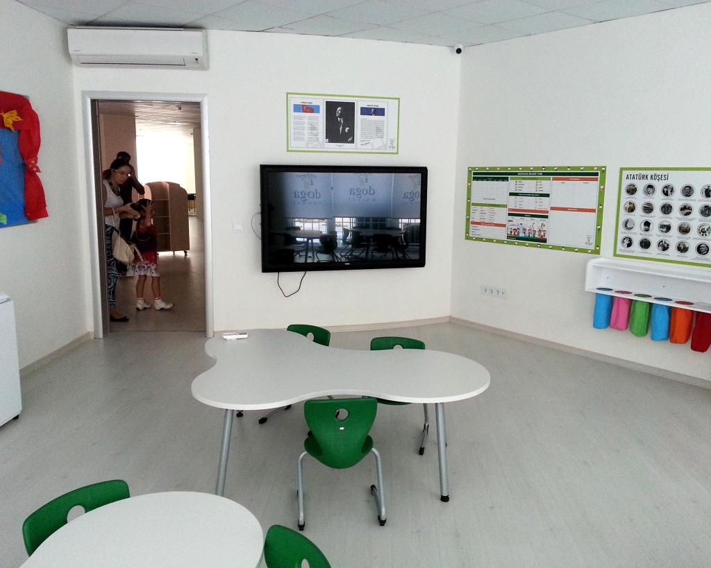 Школьный класс для подготовишек