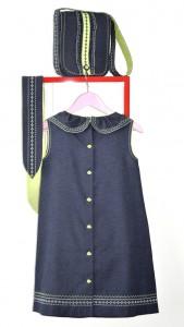 Мой вариант джинсового платья Burda №4-2014, мод. 139