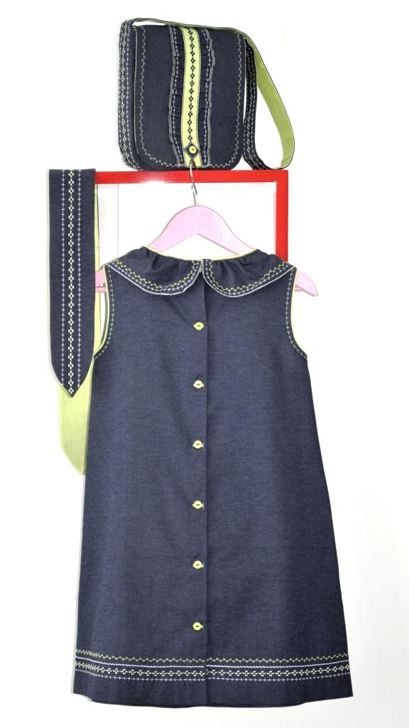 Мой вариант платья Burda №4-2014, мод. 139