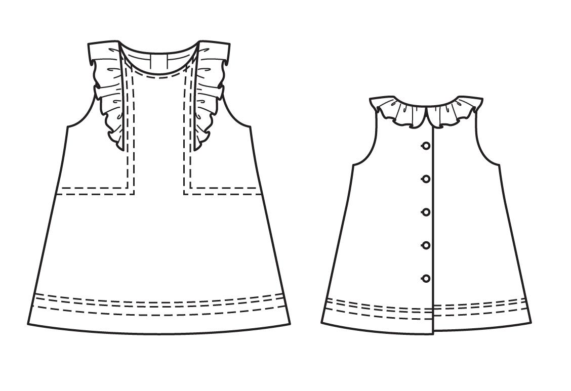 Burda №4-2014, мод. 139