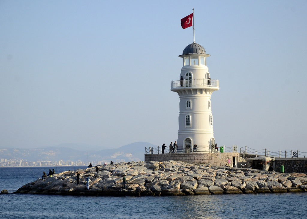 Маяк в Аланье, Турция