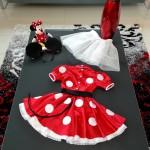Платье Минни Маус, вид сзади