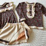 Трикотажный костюмчик для девочки