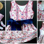 Нарядное платье с сумочкой для девочки