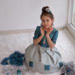 Нарядное платье девочке своими руками