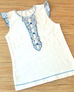 Сшить футболку для девочки