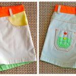 Сшить шорты для девочки