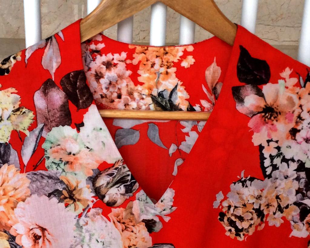 Женская блузка своими руками