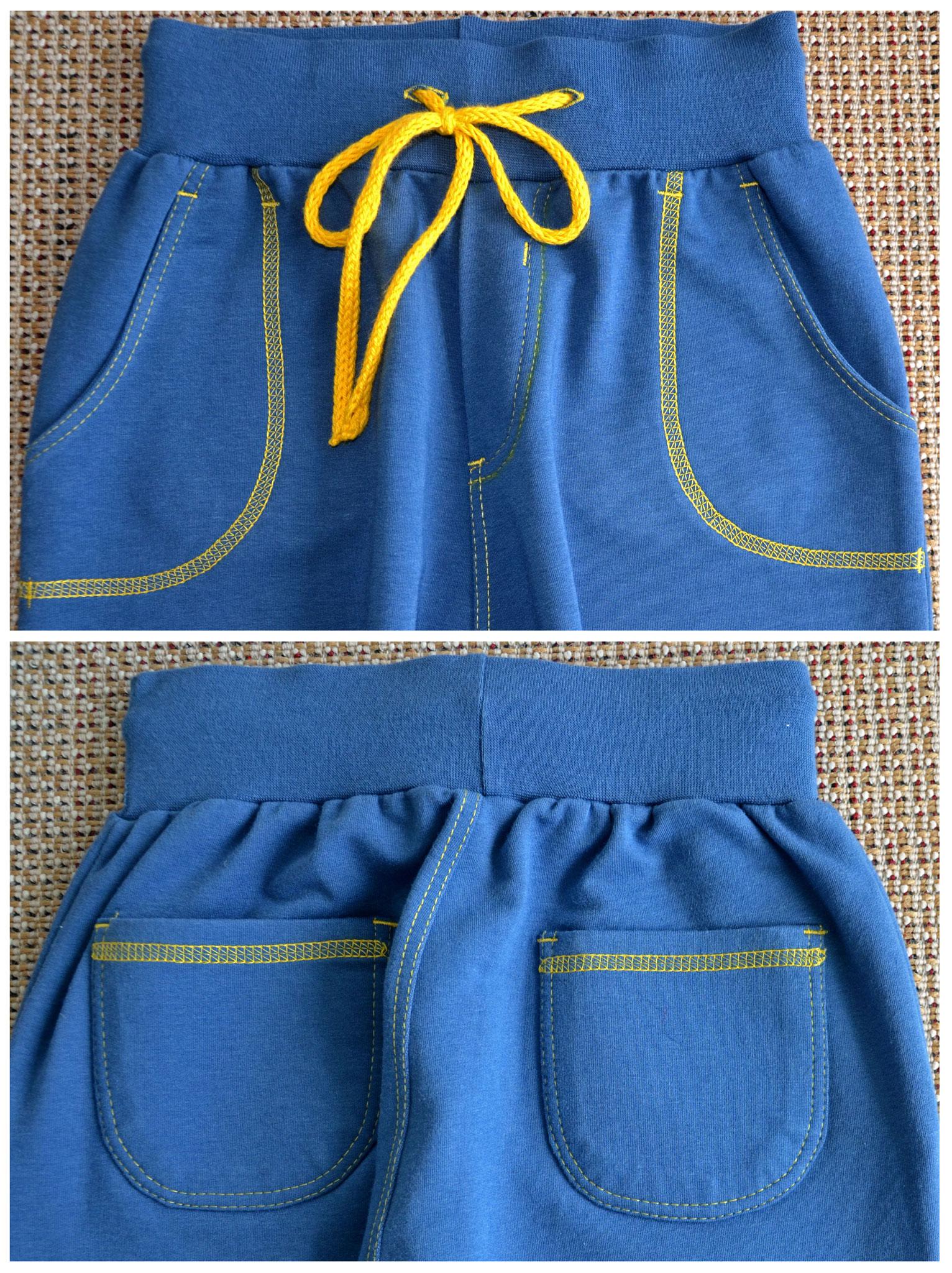 Трикотажные брюки девочке