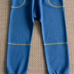 Трикотажные брюки девочке фото