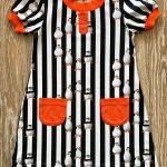Трикотажное платье девочке