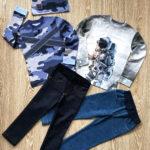 Комплект одежды для мальчика фото