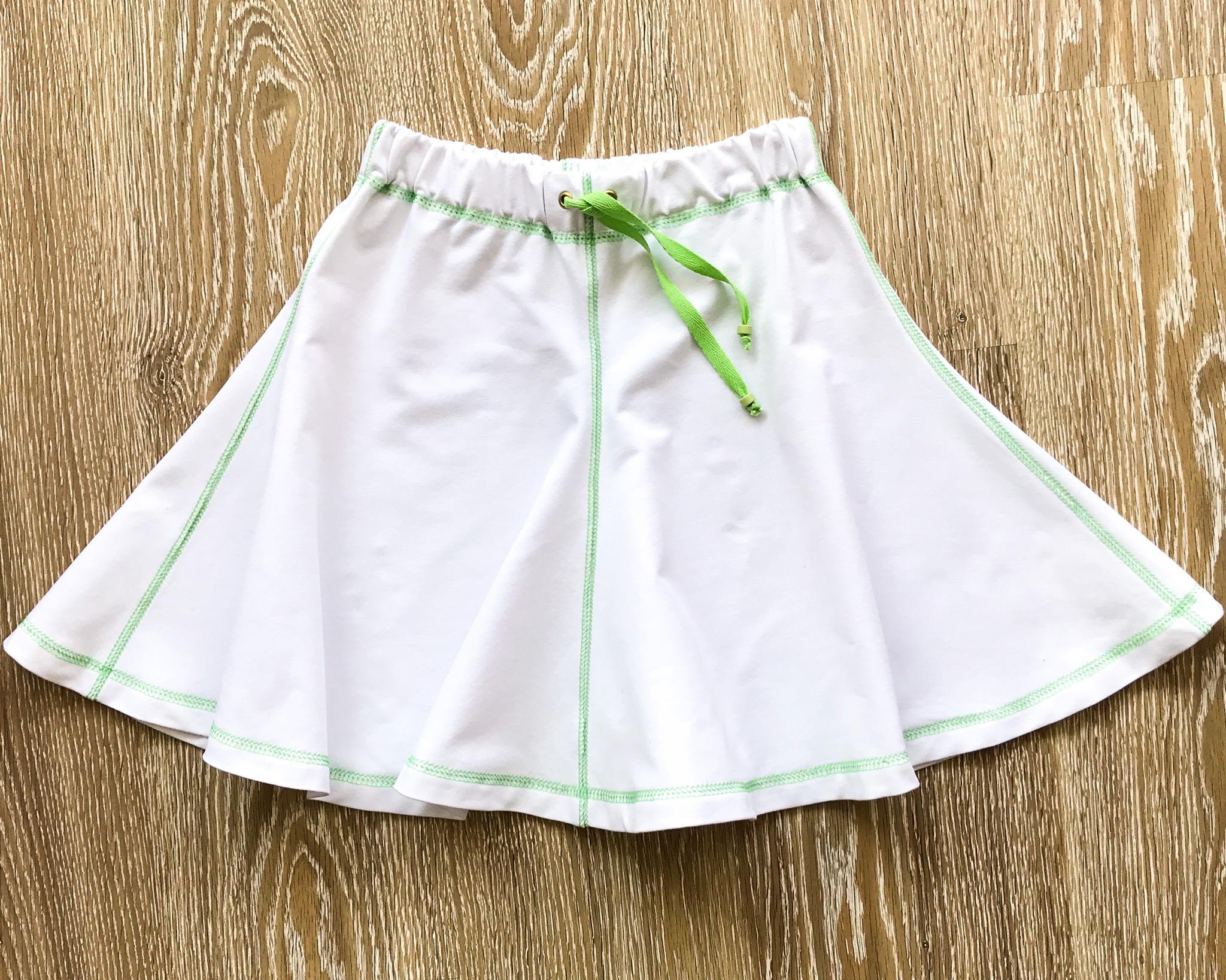 Летняя юбка девочке фото