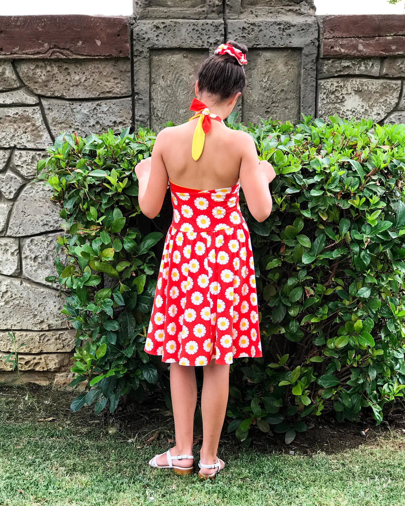 Сарафан для девочки своими руками фото